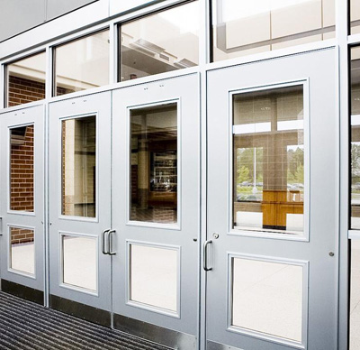 Preferred building products commercial products for Commercial exterior doors